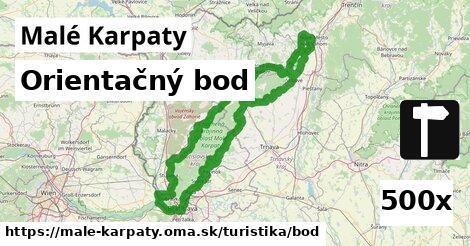 orientačný bod v Malé Karpaty