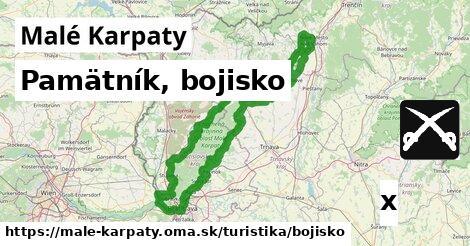 ilustračný obrázok k Pamätník, bojisko, Malé Karpaty