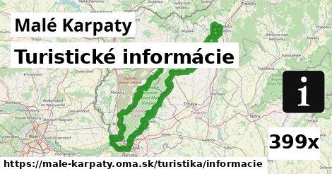 turistické informácie v Malé Karpaty