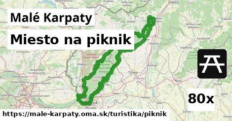 miesto na piknik v Malé Karpaty