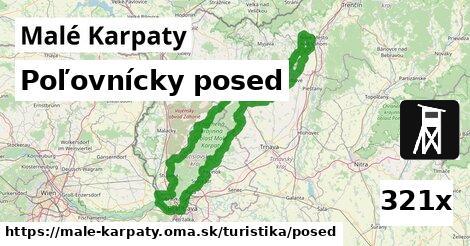 ilustračný obrázok k Poľovnícky posed, Malé Karpaty
