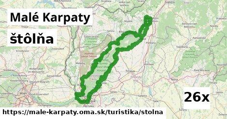 ilustračný obrázok k štôlňa, Malé Karpaty