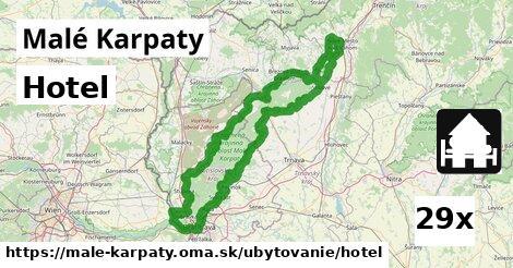 hotel v Malé Karpaty