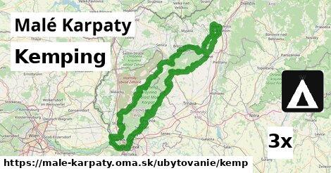 kemping v Malé Karpaty