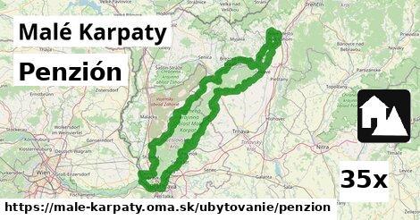 penzión v Malé Karpaty
