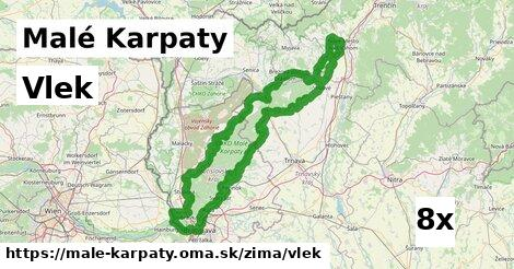 vlek v Malé Karpaty