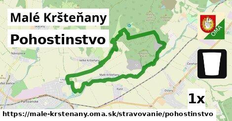 pohostinstvo v Malé Kršteňany