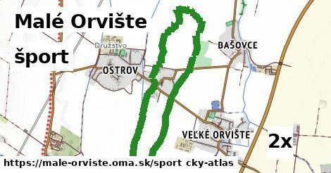 šport v Malé Orvište
