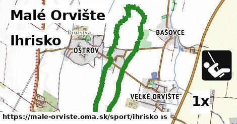 ilustračný obrázok k Ihrisko, Malé Orvište