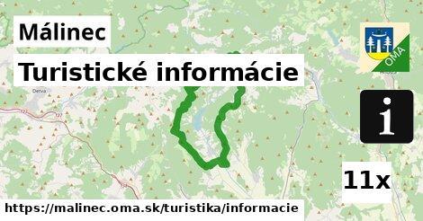 turistické informácie v Málinec