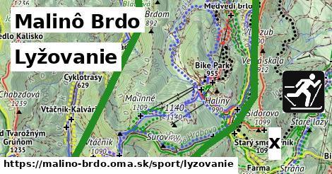 lyžovanie v Malinô Brdo
