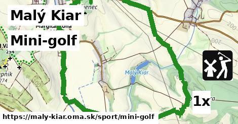 mini-golf v Malý Kiar