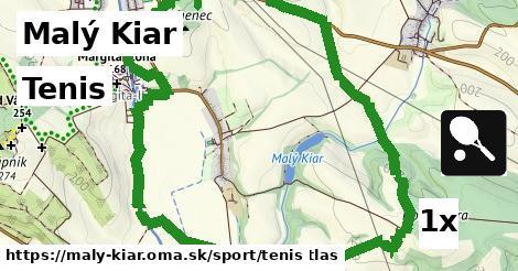 tenis v Malý Kiar