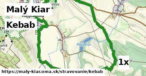 kebab v Malý Kiar