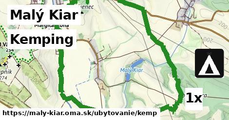 kemping v Malý Kiar