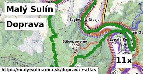 doprava v Malý Sulín