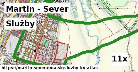 služby v Martin - Sever