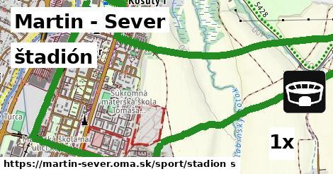 štadión v Martin - Sever