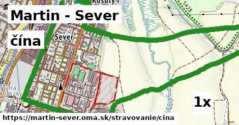 čína v Martin - Sever
