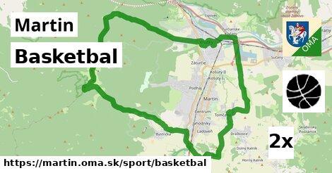 Basketbal, Martin
