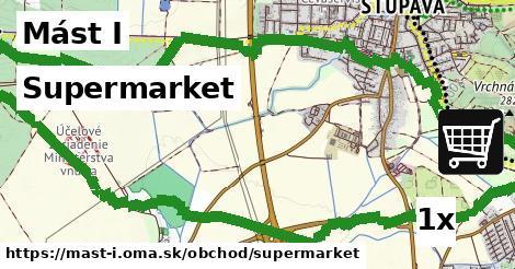 supermarket v Mást I