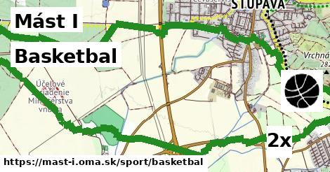 basketbal v Mást I