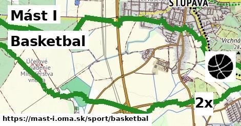 basketbal v Mást I