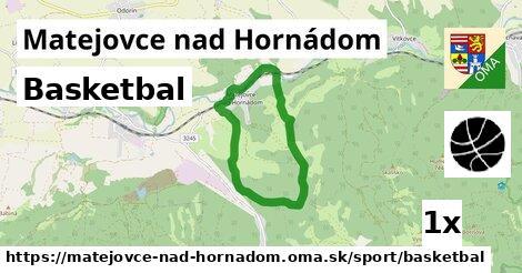 basketbal v Matejovce nad Hornádom