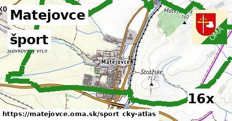 šport v Matejovce