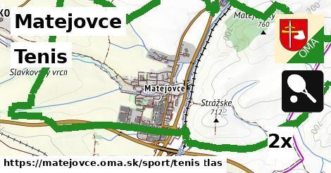 tenis v Matejovce