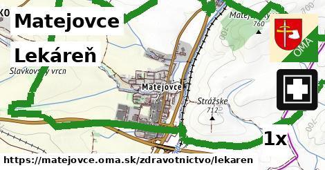 lekáreň v Matejovce