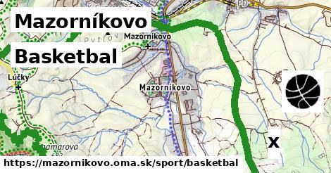 basketbal v Mazorníkovo