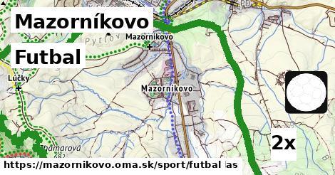 futbal v Mazorníkovo