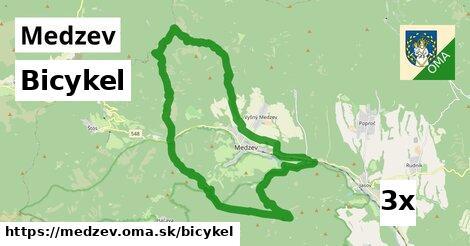 bicykel v Medzev