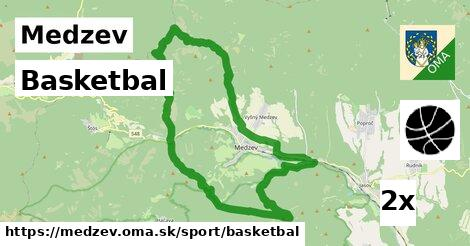 basketbal v Medzev