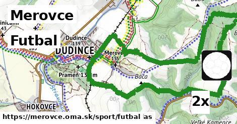 ilustračný obrázok k Futbal, Merovce