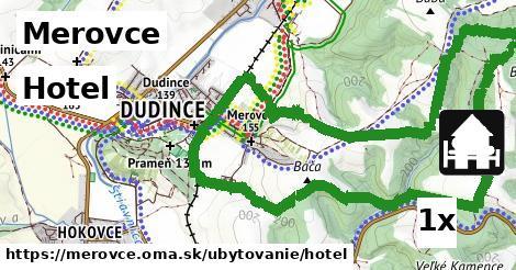 ilustračný obrázok k Hotel, Merovce