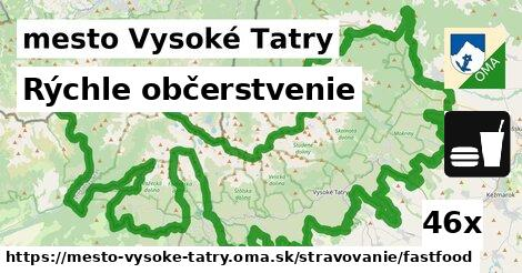 v mesto Vysoké Tatry