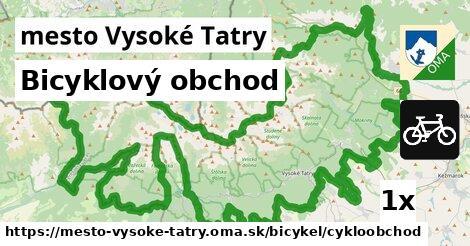 bicyklový obchod v mesto Vysoké Tatry
