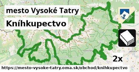 ilustračný obrázok k Kníhkupectvo, mesto Vysoké Tatry