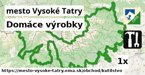 ilustračný obrázok k Domáce výrobky, mesto Vysoké Tatry