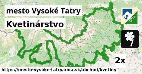 ilustračný obrázok k Kvetinárstvo, mesto Vysoké Tatry