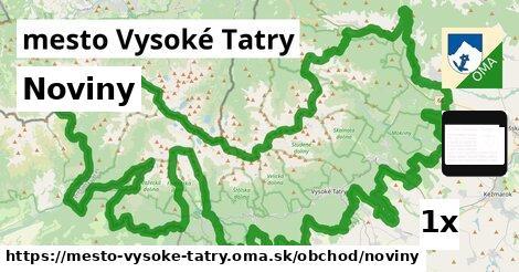 ilustračný obrázok k Noviny, mesto Vysoké Tatry