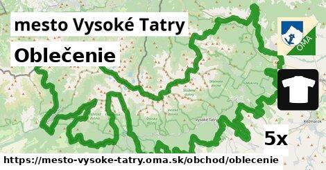 ilustračný obrázok k Oblečenie, mesto Vysoké Tatry
