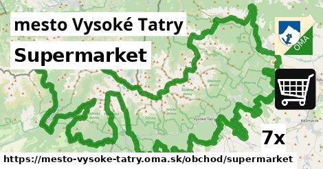 ilustračný obrázok k Supermarket, mesto Vysoké Tatry