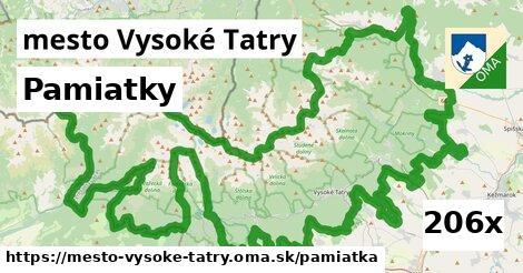 pamiatky v mesto Vysoké Tatry