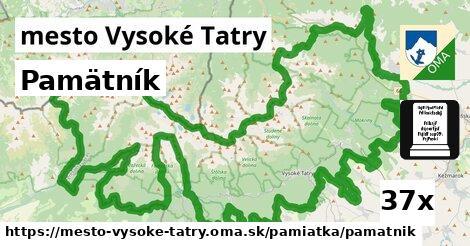 ilustračný obrázok k Pamätník, mesto Vysoké Tatry