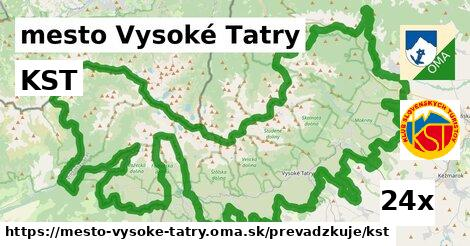 KST v mesto Vysoké Tatry