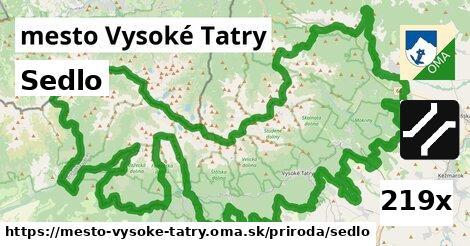 sedlo v mesto Vysoké Tatry