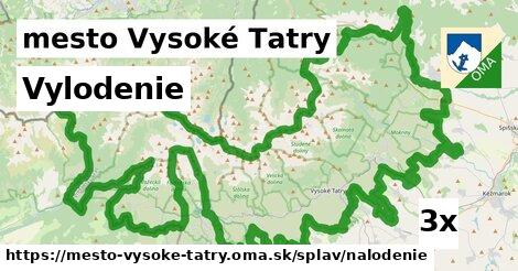 vylodenie v mesto Vysoké Tatry
